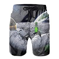 Astronaut Drinks水着 メンズ サーフパンツ 海パン ボートショーツ?