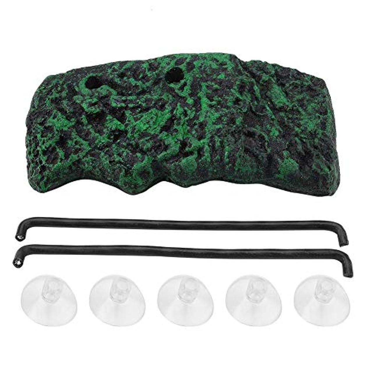装置版抹消タートルバスキングドック、タートルバスキングドックのための吸引カップ付き自動ウォータータートルバスキングフローティングアイランドタートルバスキングロック(S)