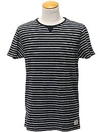 SCOTCH&SODA(スコッチアンドソーダ)コットンリネン ボーダーTシャツ Men's 【282-34403】[正規取扱]