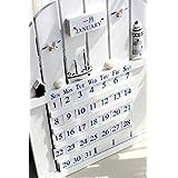 【インテリア カレンダー】 木製 マリンカレンダー 海の 雰囲気 店舗用 にも!! お部屋のおしゃれにも 最適!! インテリア雑貨 おしゃれ雑貨 万年カレンダー 【壁掛け】