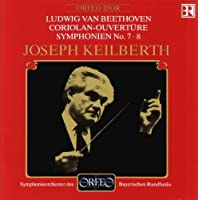 Coriolan-Ouverture / Symphonies Nos. 7 & 8 by LUDWIG VAN BEETHOVEN (1992-04-03)