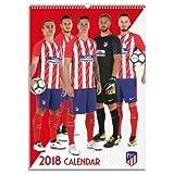 アトレチコマドリード(Atletico Madrid) オフィシャル 2018 壁掛け カレンダー