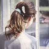ジュエルチェンジズ(Jewel Changes) Cilsoie フェザー マジェステ セット / シルソワ / ヘアアクセ【LT.BLUE/フリー】