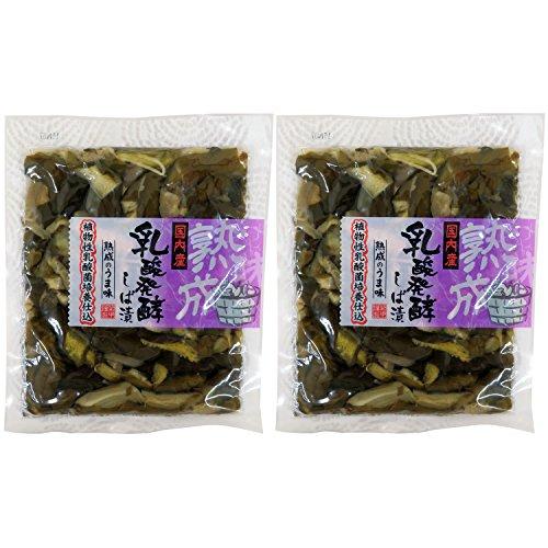 菊甲食品 乳酸発酵 しば漬 2袋セット