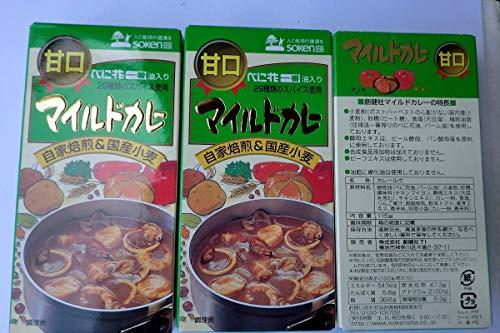 無添加 マイルドカレールゥ【甘口】辛味袋付き 115g×3袋