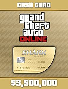 Grand Theft Auto Online: Whale Shark Cash Card (GTAマネー $3,500,000) 【Windows版】 [オンラインコード]