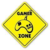 GAMER ZONE Sign novelty gift xbox playstation ps by SignMission