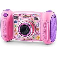 VTech Kidizoom Camera Pix 子供用 デジタルカメラ ピンク ブルー 日本語説明書付き (MicroSD対応) (ピンク) [並行輸入品]