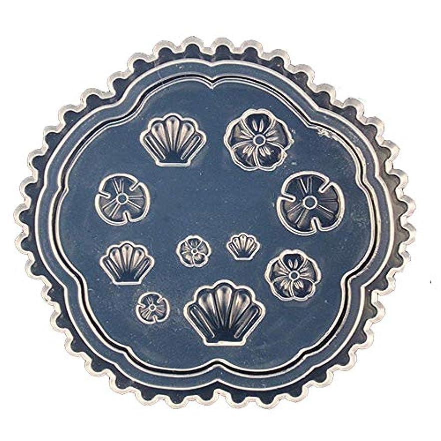 閉じ込める下に向けます伝統的coraly 3Dシリコンモールド ネイル 葉 花 抜き型 3Dネイル用 レジンモールド UVレジン ネイルパーツ ジェル ネイル セット アクセサリー パーツ 作成 (3)