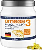 Best フィッシュオイル - GloryFeel オメガ3脂肪酸 サプリメント– 400粒ソフトジェル – 原産国:ドイツ – 1000mg Review