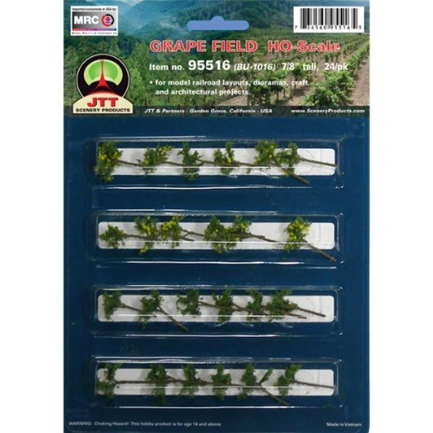 JTT Scenery Products Flowering Plants Series: Grape Vines 7/8 [並行輸入品]