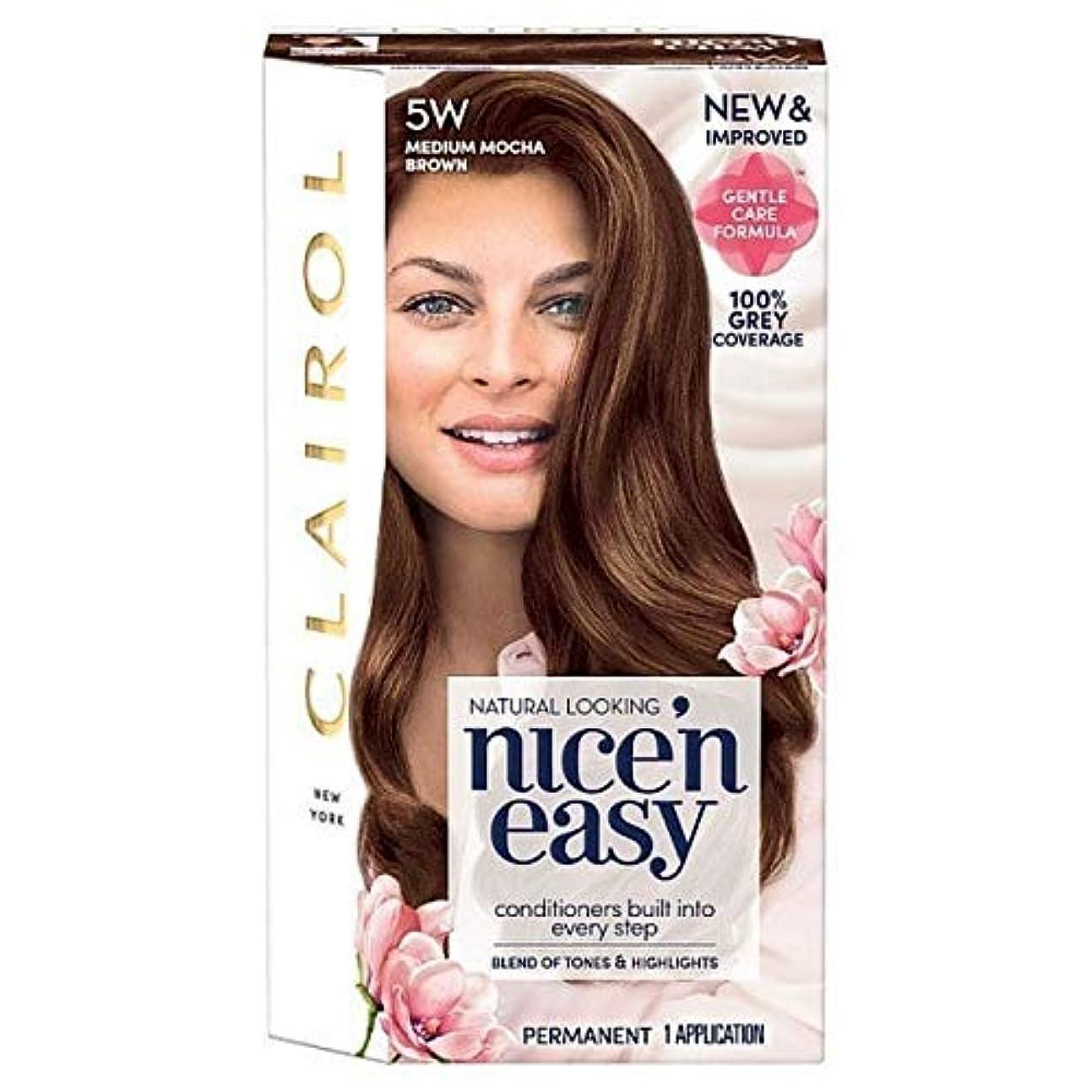 分数不名誉な剥離[Nice'n Easy] 簡単な5ワットメディアモカブラウンNice'N - Nice'n Easy 5W Medium Mocha Brown [並行輸入品]