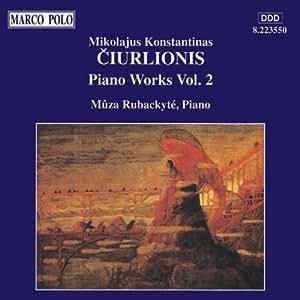 Ciurlionis:Piano Wks Vol.2