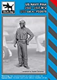 ブラックドッグ 1/32 アメリカ海軍 パイロット 1940年~1945年 No.2 レジンキット HAUF32075