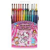 Hello Kitty 24カラーツイストクレヨンセット: Circus