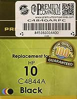 プレミアム互換機c4840arpc PCI HP 10ブラックインクジェットカートリッジ1.2K Yield