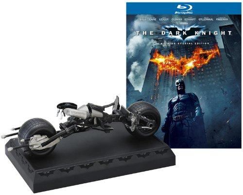 ダークナイト BATPODプレミアムBOX(2枚組) 【初回限定生産】 [Blu-ray]の詳細を見る