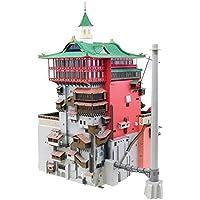 スタジオジブリ 千と千尋の神隠し 油屋 ペーパークラフト 1/150スケール フラッグシップモデル みにちゅあーと