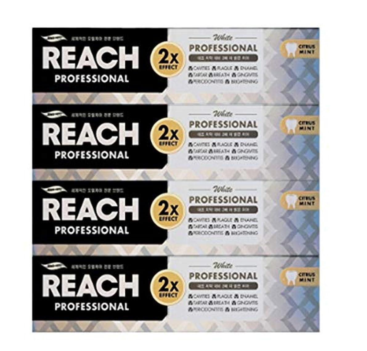 窒素期待する疑い[LG生活と健康] LG Rich Professional toothpaste whiteningリッチ、プロフェッショナル歯磨き粉ホワイトニング120g*4つの(海外直送品)