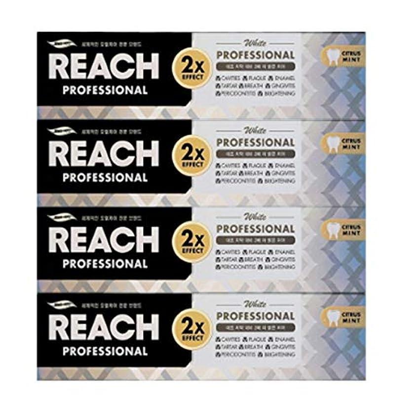 朝流産兵器庫[LG生活と健康] LG Rich Professional toothpaste whiteningリッチ、プロフェッショナル歯磨き粉ホワイトニング120g*4つの(海外直送品)