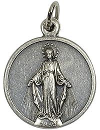 イタリア製メダイ 無原罪のマリア(Medals of Miraculous)