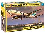 ズベズダ 1/144 ボーイング737-8 MAX プラモデル ZV7026