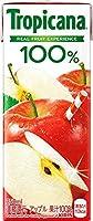 〔飲料〕キリン トロピカーナ 100% アップル 250mlパック 1ケース (1ケース24本入)(りんご・リンゴ)(濃縮還元)(KIRIN)キリンビバレッジ