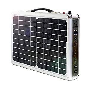 ソーラーパネル 一体型 ポータブル電源 大容量 300Wh 93750mAh 純正弦波 300W出力 20Wパネル搭載 AC・DC・USB出力 ソーラーチャージャー 太陽光発電 車中泊 発電機 防災用品 発電機