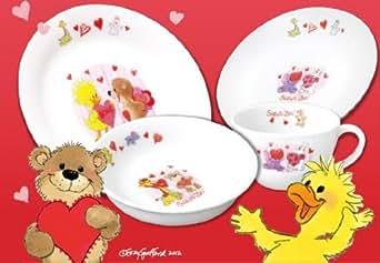 KFC [ケンタッキー・フライド・チキン] Suzy's ZOOテーブルウェア4点セット