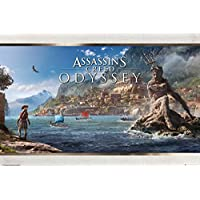 """Assassin 's Creed : Odyssey–ゲームポスタープリント(Vista) (サイズ: 36"""" x 24"""")"""