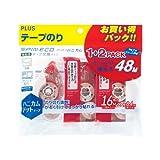 プラス テープのり スピンエコハニカム 本体1個 交換テープ2個入 ピンク 38-070