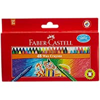 Faber Castell Wax Crayons - 48 Shades by Faber Castell