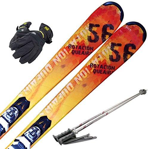 [해외]SWALLOW (삼키기) 스키 4 종 세트 16-17 ROTACION QUEAIRS XPRESS 10 바인딩 | 주식 | 장갑 첨부/SWALLOW (swallow) ski 4 point set 16-17 ROTACION QUEAIRS XPRESS 10 binding | stock | with glove