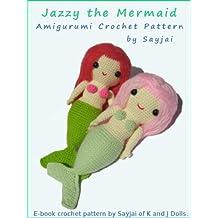 Jazzy the Mermaid Amigurumi Crochet Pattern