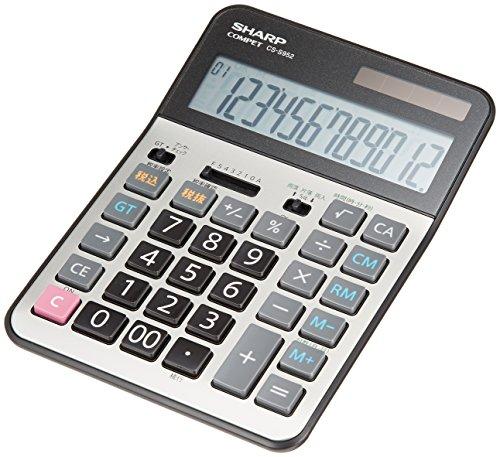 シャープ 実務電卓 セミデスクトップタイプ CS-S952X