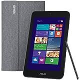 【Amazon.co.jp限定】 ASUS NB / black  [Windows10無料アップデート対応](WIN8.1 32B.JP / 8.0 inch TOUCH / Z3740 / 2G / 64G EMMC / personal 2013 / BT4.0 / スリーブ付属) M80TA-DL004HS