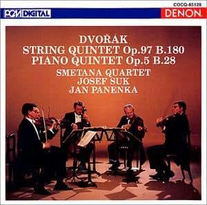 ドヴォルザーク : 弦楽五重奏曲 第3番 変ホ長調 作品97