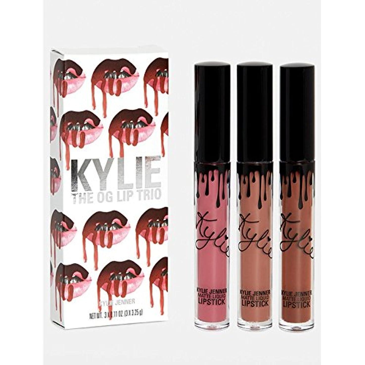 昼食再撮り単位新入荷 The Kylie Cosmetics (カイリーコスメティクス)OG Trio / Lip Set