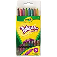 Crayola 527408 Twistableクレヨン従来、8色/セット