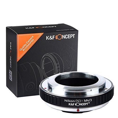 マウントアダプター マイクロフォーサーズ Nikon(s)-M4/3 K&F Concept® Nikon(s)マウントレンズ-マイクロフォーサーズマウントボディ用 Nikon(s)マウントレンズ- Micro 4/3カメラ装着用レンズアダプターリング