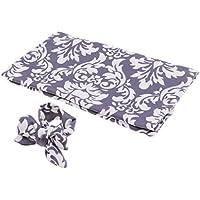 Fenteer ベビー寝袋 赤ちゃんブランケット ベビーおくるみ 寝袋 ヘッドバンド付き 撮影用 夏 ソフト 全9種類 - 古典的な花