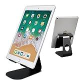 タブレット スタンド スマホ兼用 角度調整可能 充電スタンド 4インチ~12.9インチに対応 Nintendo Switch iPad Pro Air mini iPhone エ..