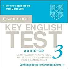 Amazon | Cambridge Key English Test 3 Audio CD: Examination Papers from the University of Cambridge ESOL Examinations (KET Practice Tests) | | Words & Language