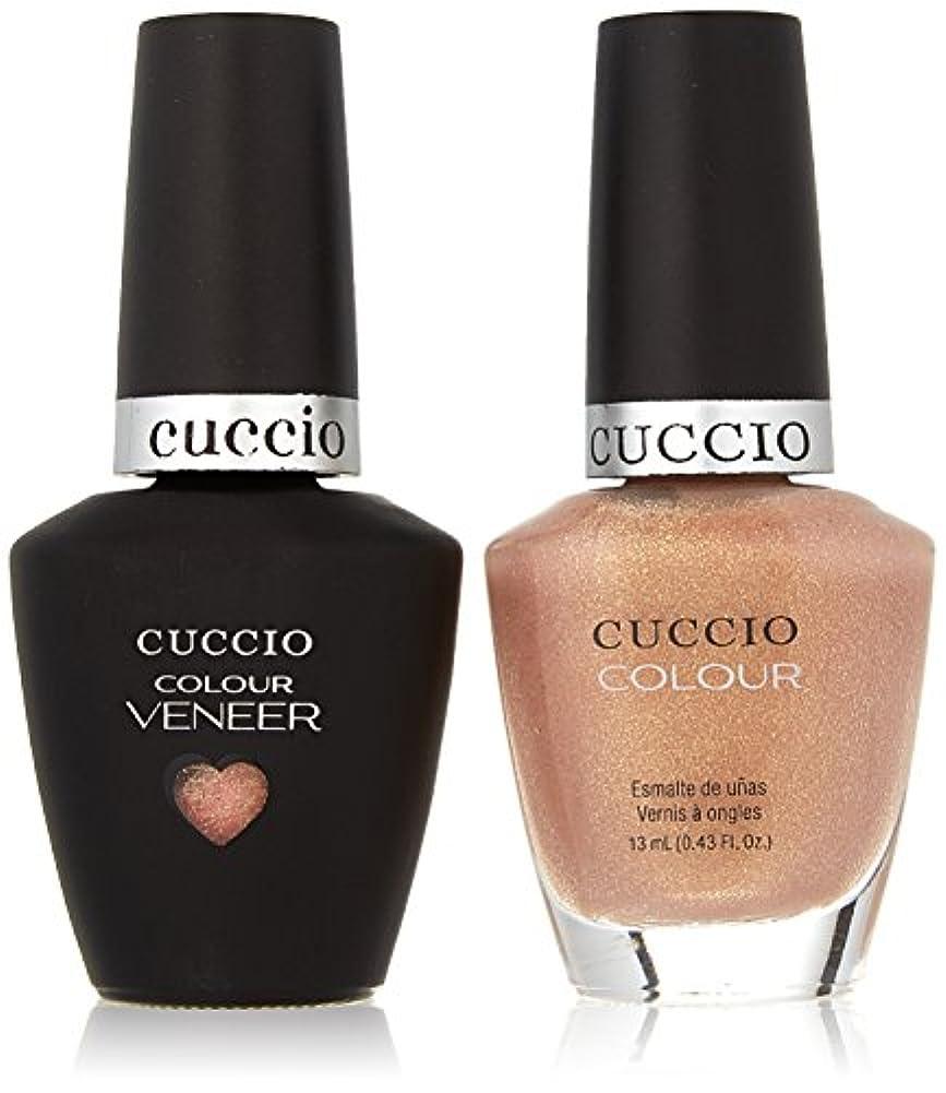 消す委員会浜辺Cuccio MatchMakers Veneer & Lacquer - Los Angeles Luscious - 0.43oz / 13ml Each