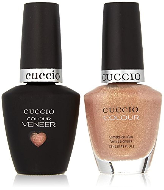 画家伝染性の情熱的Cuccio MatchMakers Veneer & Lacquer - Los Angeles Luscious - 0.43oz / 13ml Each