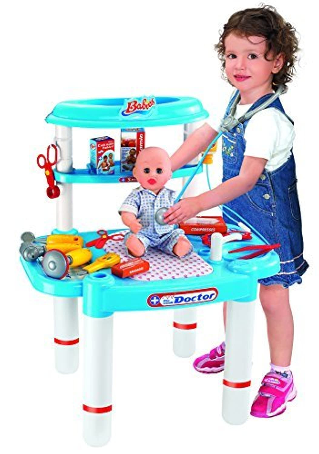 Berry Toys Babies Small Doctor Doll Playset [並行輸入品]
