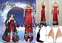 コスプレ衣装 Fate Grand Order セミラミス コスプレ衣装+手袋 ウィッグ/耳 追加可