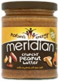 Meridian Natutal Crunchy Peanut Butter – No Added Sugar 280 g (Pack of 6)