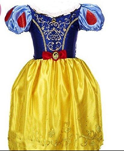 ハロウィン子供用 白雪姫 ディズニー コスプレ 結婚式 フラワーガール プリンセスワンピース