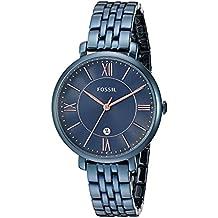 Fossil Women's ES4094 Jacqueline Analog Quartz Blue Watch